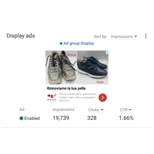 campagna google ads sciuscia padova